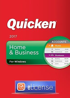 Quicken 2017 Home and Business 3PC