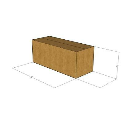 50 New Corrugated Boxes - 10 x 4 x 4 200# / 32 ECT