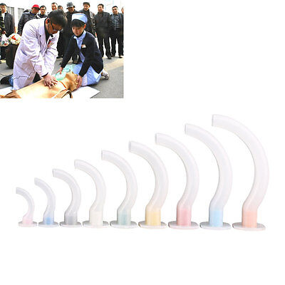 Oropharyngeal Airway for First Aid and Paramedics - Sizes1, 2,3 and 4  WI