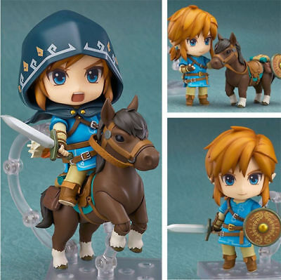 Nendoroid The Legend of Zelda 733DX# Link Breath of the aWild Deluxe PVC Figure