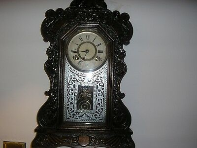 beautiful mantel/wall clock