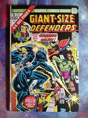 Giant Size Defenders #5 KEY 3rd App Guardians of The Galaxy High Grade 1975