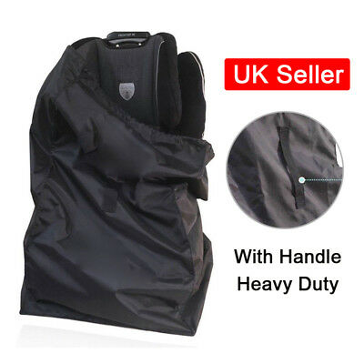 Portable Car Baby Kids Child Safety Seat Travel Storage Bag Dust Cover Handle UK