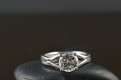 2Ct Round Moissanite 14K White Gold Ring Solitaire Engagement Women's Ring22