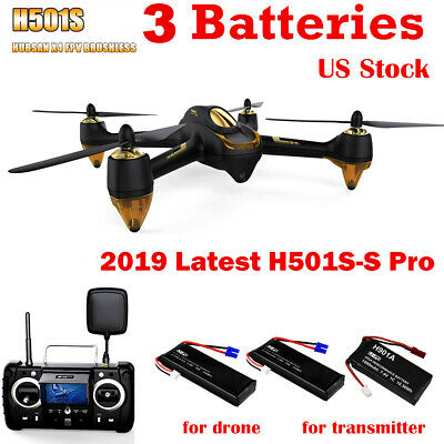 Hubsan H501S PRO FPV Drone Brushless RC Quadcopter 5.8G 1080P Follow Me GPS RTF