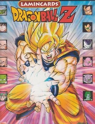 ALBUM JEU DRAGON BALL + 400 LAMINCARDS sous blister lamincard booster