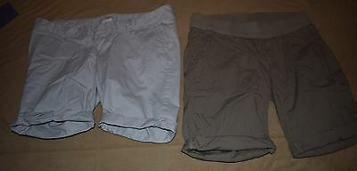 Lot of 2  Old Navy & Oh Baby Maternity Shorts size M