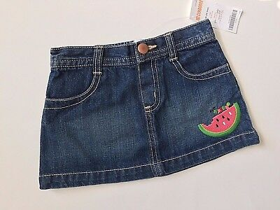 New Baby Girl Gymboree Jean Skirt, Size 18-24 Months