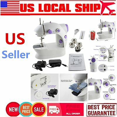 Portable Mini Handheld Electric Sewing Machine Desktop Home Household Sewing RHB