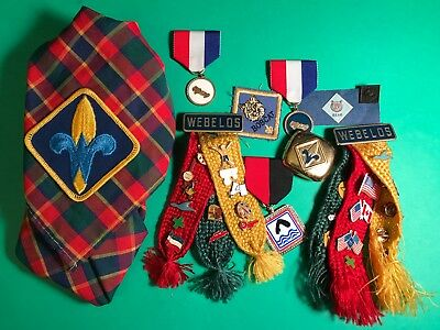 Lot of Vintage Boy Scout Webelos Cub Scouts A MUST SEE