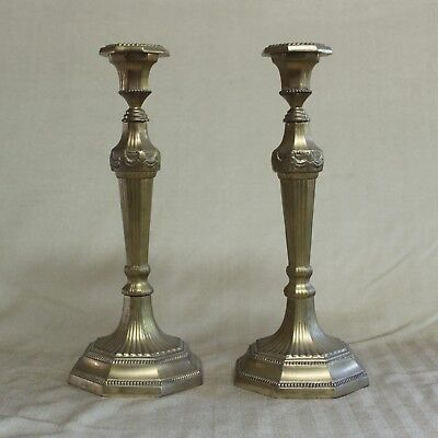 "Beautiful 12"" Louis XIV Style Candlesticks"