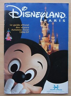 Guide Officiel Disneyland Paris