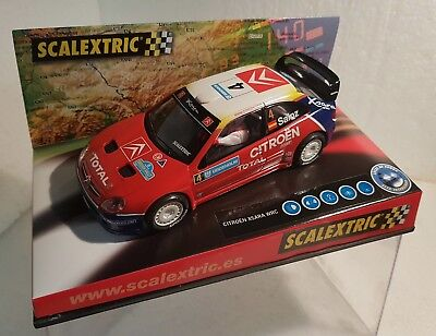 Kinderrennbahnen Spielzeug Capable Scalextric Citroen Ds3 Wrc #7 .attiyah-bernacchini Only In Sets.mint Unboxed