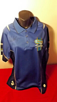 V8 Supercars Fpv Orrcon Steel Racing Polo Shirt In Great Condition Autograph 2Xl