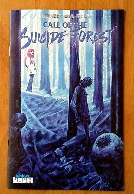 Call of the Suicide Forest 1 of 5 Cover A 1st Print Amigo Comics 2018 NM+