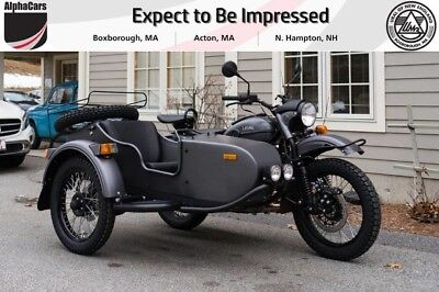 2018 Ural Gear Up 2WD Slate Grey Classic  Brand New Color Updated Steering Damper Brembo Brakes Financing & Trades