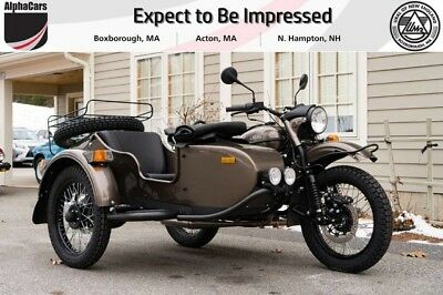 2018 Ural Gear Up 2WD Bronze Classic  Custom Color Updated Model Reverse Gear Financing & Trades
