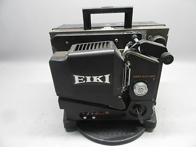 Eiki SL-OL Portable 16mm Sound And Film Projector w/Case *Tested Working*