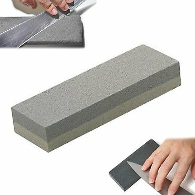Knife Sharpening Stone Doublesided Knife Sharpener Fine Medium Grit Whetstone