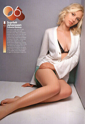 Scarlett Johansson->56 ads & clippings of Beautiful American Actress