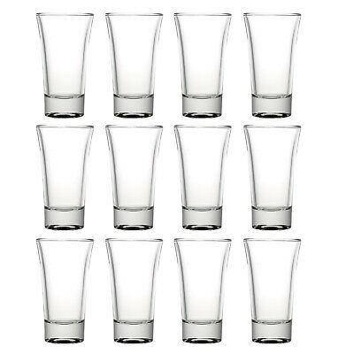 Set Of 6 12 24 60ml Queensway Shot Glasses Bar Glasses Shot Vodka Liquor Party