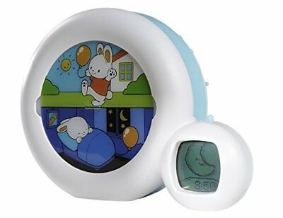 Claessens' Kids Kid'Sleep Moon Sleeptrainer Nightlight White/Blue Night Lights