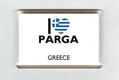 I Love Parga Fridge Magnet • Greece Gift