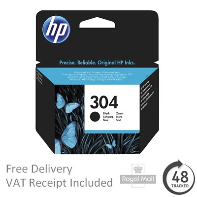 HP DeskJet 2632 Black Ink cartridge - HP 304 Original Ink cartridge