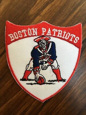 """Boston New England Patriots PATCH - 3"""" Embroidered Iron-on New Football vintage"""