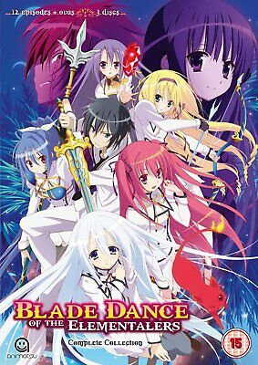 Blade Dance Of The Elementalers Complete Season 1 Collection (DVD)