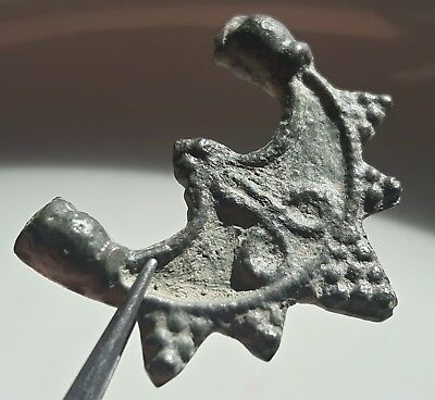 Romano Celtic Billon  Fertility Amulet ** Lunar ** Phallus ** Great Artifact
