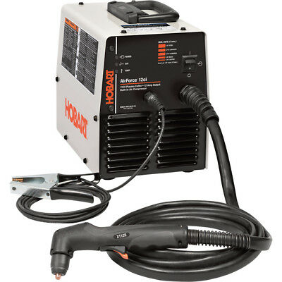 Hobart AirForce 12ci Plasma Cutter with Built-In Air Compressor — 115V, 12 Amp.