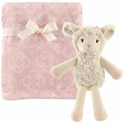 Hudson Baby Home & Kitchen Features Plush Blanket With Toy Set, Girl Lamb