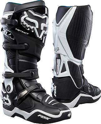 FOX Instinct Boot black white Motocross Enduro Stiefel UVP 515,00 €