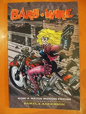 Barb.Wire. Pamela Anderson. Now a Major Motion Picture. Dark Horse Comics