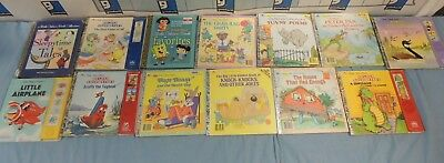 Lot of Big little golden books, sound golden books and multiple story books (13)