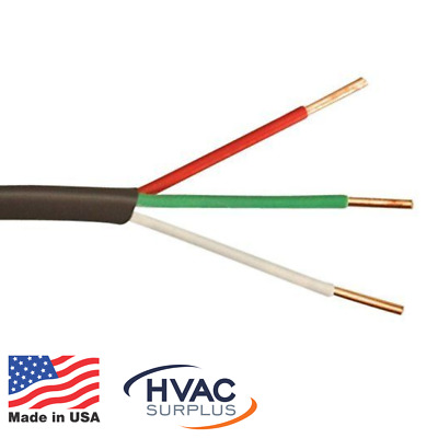 Thermostat Wire 18/3 Choice of Length 18 Gauge 3 Conductor Honeywell Genesis