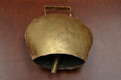 "Handmade Cow Goat Sheep Farm Animal Rusty Iron Metal Bell 5"" #f-319"