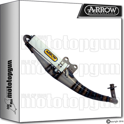 Arrow Full Exhaust System Extreme White White Hom Piaggio Zip 50 2003 03 2004 04