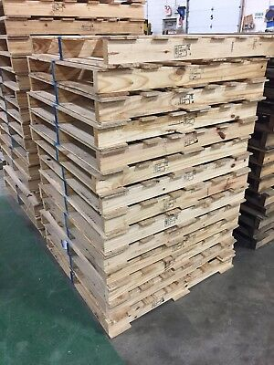 42 X 42 Wood Shipping Pallet ISPM Certified