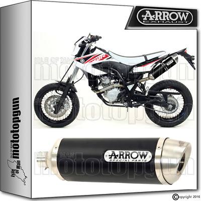 Arrow Kit Exhaust Thunder Aluminium Dark Hom Yamaha Wr 125 X 2015 15 2016 16