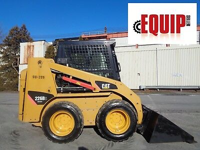 2008 Caterpillar 226B2 Skid Steer Loader - Enclosed Cab - High Flow  - Low Hours