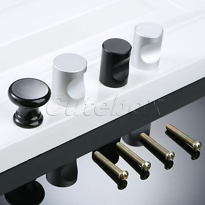 2pcs Round Drawer Cabinet Knobs Furniture Cupboard Wardrobe Door Handles Pull