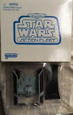 Galoob Star Wars Action Fleet MicroMachines Darth Vader Tie Fighter 1997