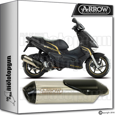 Arrow Exhaust Reflex-2 Chrom Hom Gilera Runner Sp 125 2009 09 2010 10 2011 11