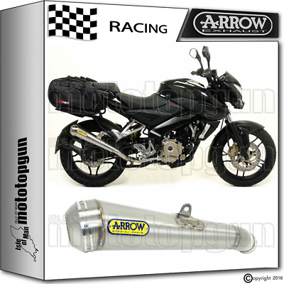 Arrow Muffler Pro-Race Chrom Race Bajaj Pulsar 200 Ns 2012 12 2013 13 2014 14