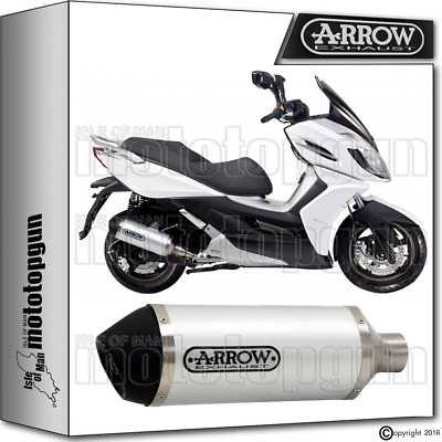 Arrow Exhaust Urban Stainless Steel Hom Kymco K-Xct 125 2011 11 2012 12 2013 13