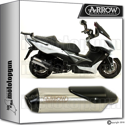 Arrow Muffler Reflex-2 Chrom Hom Kymco Xciting 400 2012 12 2013 13 2014 14