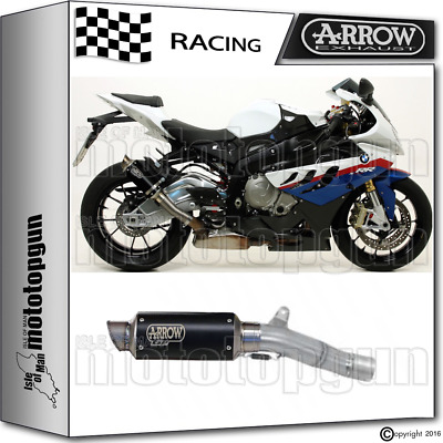 Arrow Kit Muffler Gp2 Stainless Steel Dark Race Bmw S 1000 Rr 2009 09 2010 10