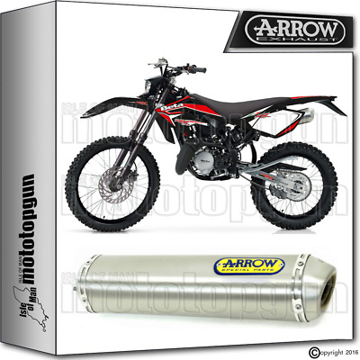 Arrow Muffler Mini-Thunder Titanium Hom Beta Rr 50 Motard 2010 10 2011 11